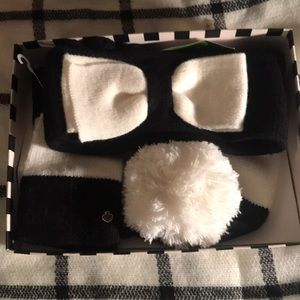 NWT Kate Spade 3 piece winter set